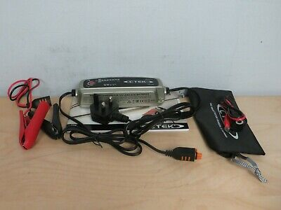 CTEK MXS 5.0 Battery charger VGC Boxed with accessories inc VAT #3