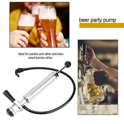 8In D-System Heavy Duty Beer Pump Beer Keg Tap Set Homebrewing Accessory New