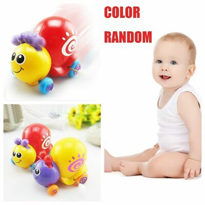 Funny Animal Spring Cute Newborn Crawling Cartoon Snails Clockwork Wind Up Toys