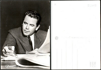 Cartolina Fotografica Cinema Movie - Glenn Ford - Columbia Films - Rotalfoto