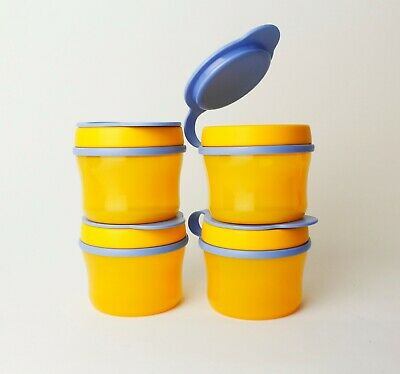TUPPERWARE TupperCare 4x 150ml Tasse Snackbox Baby Füttertasse