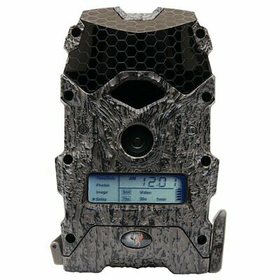 Wildgame Innovations Mirage 18 Lightsout 18MP 720p Hunting Game Camera, Camo