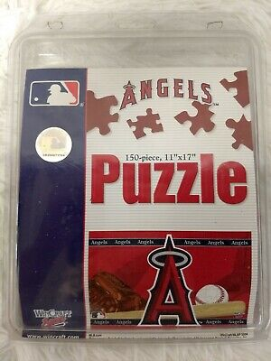 MLB Los Angeles Angels of Anaheim 150 Piece Puzzle by WinCraft GUC