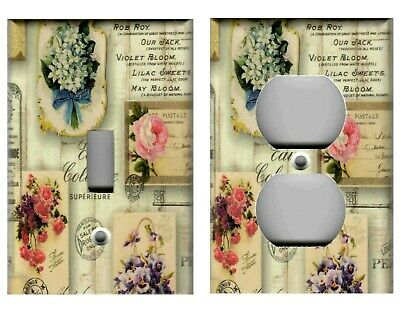 Perfume Signs Shabby Chic French Home Decor Light Switch Plates And Outlets