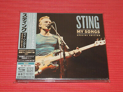 2019 Sting My Songs With Bonus Track + Bonus Live Cd Japan Special Edition