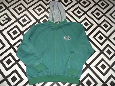 Mens 90S Reebok Hoodie Vgc Hipster Rave L Oversized  Spellout Streetwear