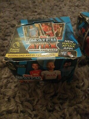 Topps Match Attax box Packs 2018/19 50 packets 7 cards