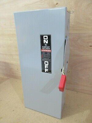 GE TH4323 Fusible Heavy Duty Safety Switch 100 Amps