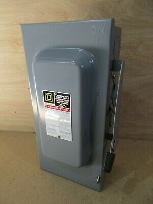 Square D D323N Fusible Safety Switch 100 Amp 3 Phase