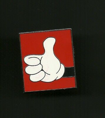 Mickey Mouse Glove Thumbs Up Hong Kong Disneyland Splendid Walt Disney Pin