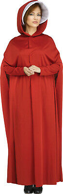 The Maiden Womens Adult Handmaids Tale Red Amish Halloween Costume