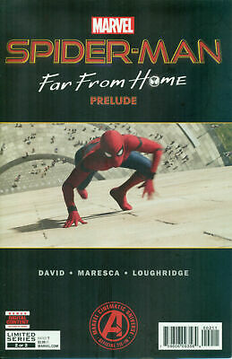 Spider-Man: Far From Home Prelude #2 photo cover NM- or better