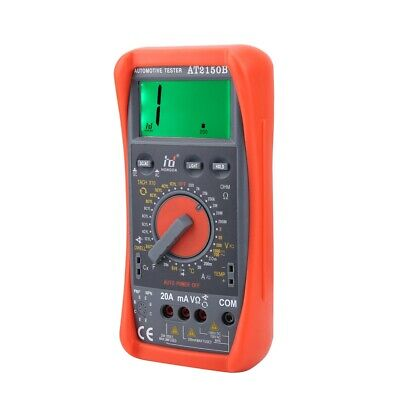 AT2150B Hand-held Car Automotive Tachometer Dwell & Tach Testing Meter