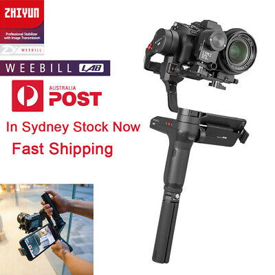 AU Zhiyun WEEBILL LAB Standard 3-Axis Handheld Gimbal Stabilizer For DSLR Camera