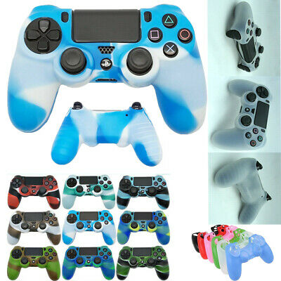 Soft Silicone Cover Case for Playstation 4 PS4 Controller  Rubber Grip Protector