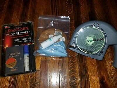 SkipDr DVD and CD Repair Device System new Open Box Skip Dr