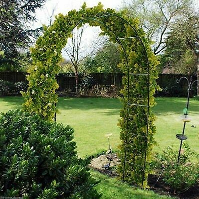 DIY Traditional Strong Decorative Metal Garden Rose Arch Archway Plant Support