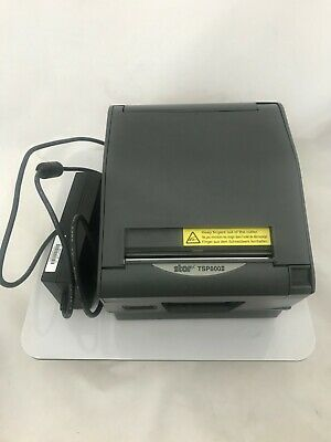 Star Micronics TSP800II Thermal POS Receipt Printer Ethernet Port w/Power Adapte