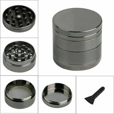3 Layers Men Skull Head Shape Grinder Portable Tobacco Herb Spice GN