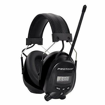 FM/AM Radio Noise Reduction Headset,Protear Ear Defenders with Stereo Headphone