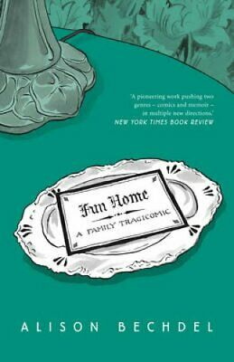 Fun Home A Family Tragicomic by Alison Bechdel 9780224080514 | Brand New