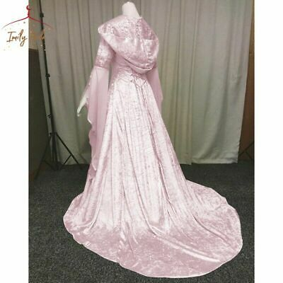 Mysterious Witchcloak Womensmedieval Gothiccosplay Costume Victorian Hood
