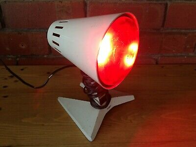 Vintage Philips Infraphil Heat Lamp, Heat Lamp, Collectable