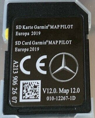 Mercedes Star2 SD karte Garmin Map Pilot V12.0 2019    A2139062607