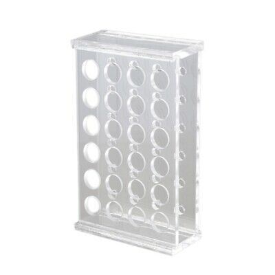 1.5Ml Centrifuge Tubes 11mm Dia Test Tube Plastic Rack Stand 24 Holes U9J3