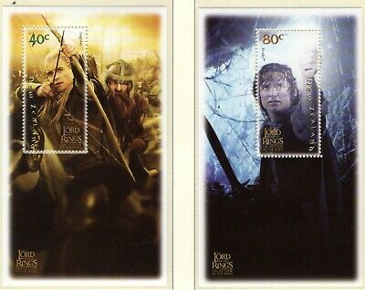 NEW ZEALAND 2003 Lord of the Rings Return of the King m/sheet set unmounted mint