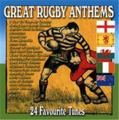 Various Artists-Great Rugby Anthems CD NEU