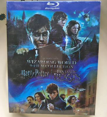 JK Rowlings Wizarding World of Harry Potter Fantastic 9 Film Collection Blu-ray