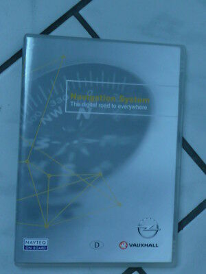 NAVI CD, OPEL VAUXHALL  DEUTSCHLAND with Major Roads of Europe  NAVTEQ 2009/2010