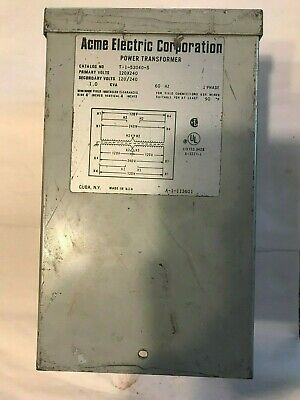 Acme Electric Power Transformer T-1-53040-S