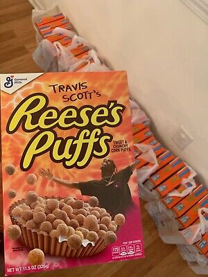Travis Scott x Reese's Puffs cereal - Look Mom I Can Fly