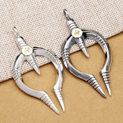 S925 pure silver jewelry Japanese and Korean creative personality pendant