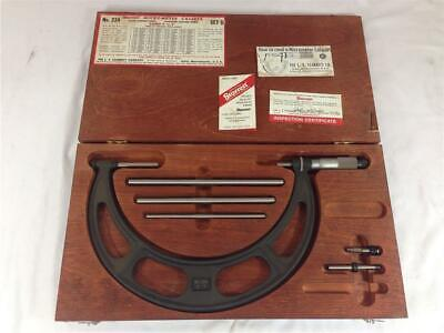 "Starrett No. 224 Set B 6-9"" Outside Micrometer"