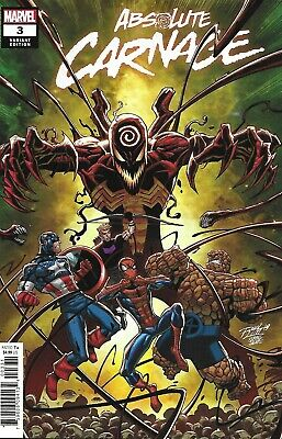 Absolute Carnage Comic Issue 3 Cover C Variant Ron Lim 2019 Donny Cates Stegman