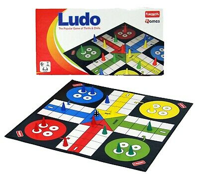 Funskool Traditional GAMES LUDO, DRAUGHTS, CHESS or SNAKES AND LADDERS BNIB