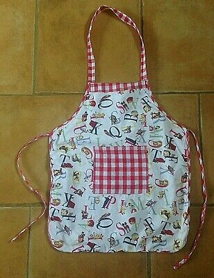 Powell Craft ! Beautiful Vintage Style Apron !! Age 6 - 7 Yrs !! Vgc