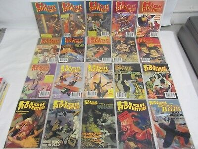 Pulp Review High Adventures Classic Pulp Fiction Reprint Lot of 38 ~ 1994-2000