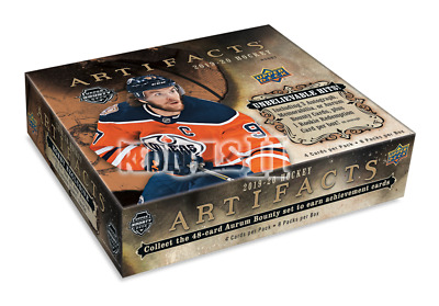 2019/20 Upper Deck Artifacts Hockey Hobby Box  New/Sealed