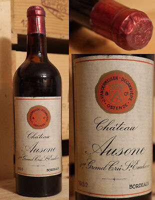 1952er Chateau Ausone - Saint Emilion 1er Grand Cru - Top