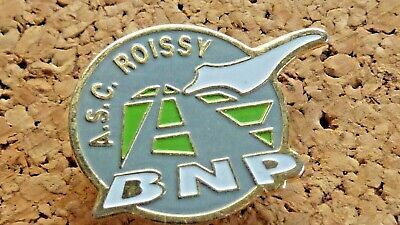 Pin's Pin Badge Avion  Concorde. Asc Roissy Bnp  Banque