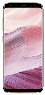 "Samsung Galaxy S8 SM-G950F 4G 64GB Android Unlocked 5.8"" Smartphone - Pink A"