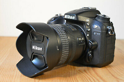 Nikon D7100 Dslr Camera Kit With Nikkor Lens Charger Battery Strap 16Gb Sd