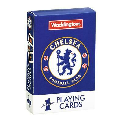 Chelsea FC Waddingtons Number 1 Playing Cards