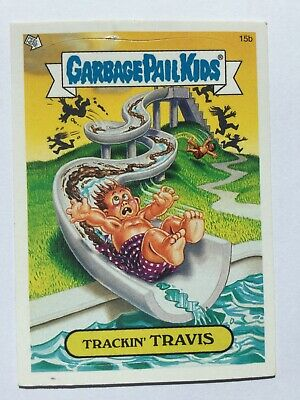 Garbage Pail Kids All New Series 2 Topps Sticker 5a Lost In Austin