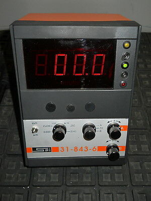"""SPI Twin Channel Digital Electronic Comparator Gage 0.000010"""" Accuracy 31-843-6"""
