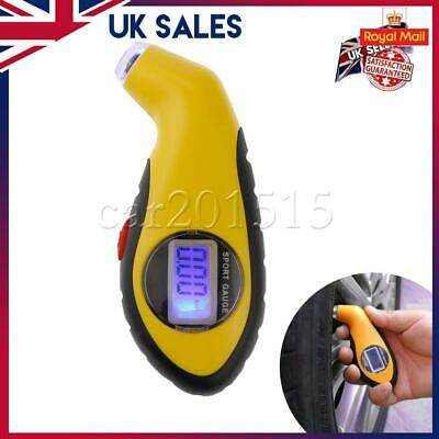 Digital Tyre Air Pressure Guage Meter Tire Measurement  Tester Auto Truck LCD